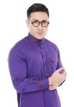 Jubah Umar Dark Purple