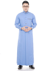 Jubah Umar Light Purple