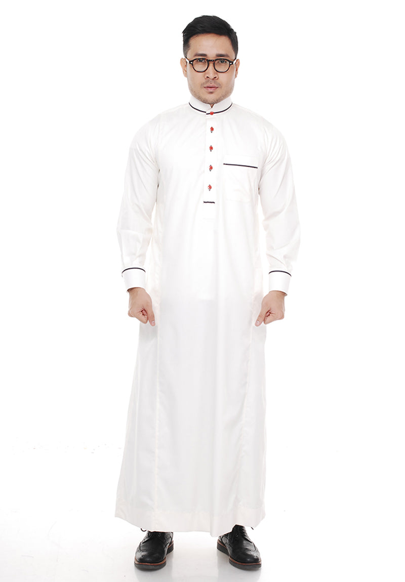 Jubah Uwais Off White
