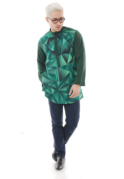 Kurta Abstract Green Plus V 2.0