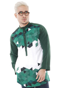 Kurta Abstract Green V 2.0
