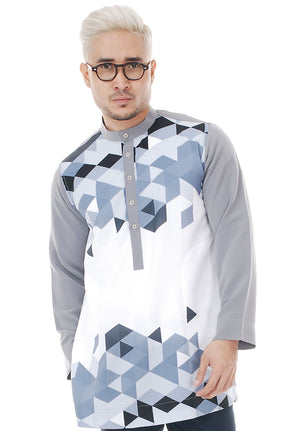 Kurta Abstract Grey V 2.0