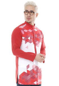 Kurta Abstract Red V 2.0