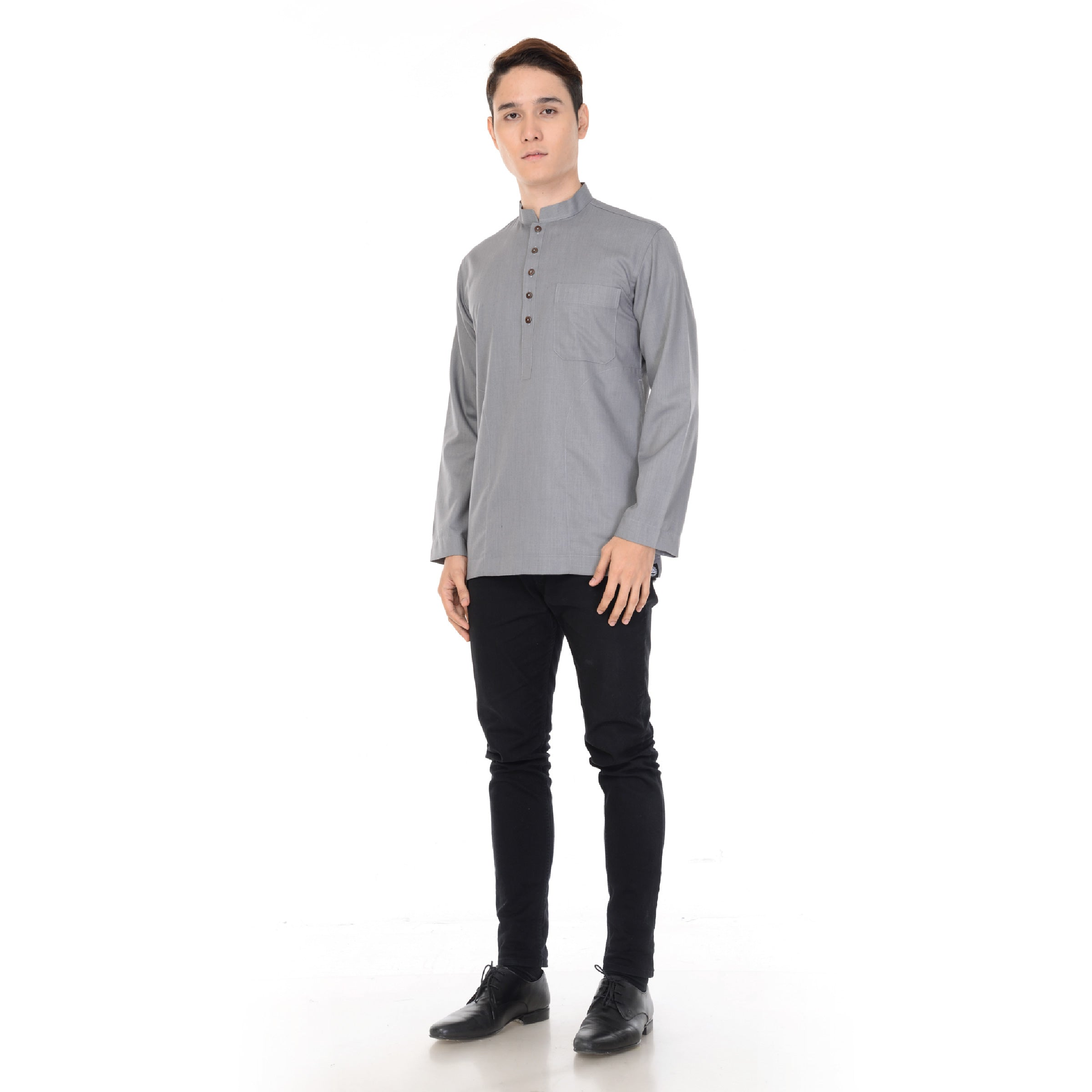 Kurta Basic Long Sleeve V.2 Light Grey