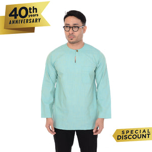 Kurta IMA Idris Blue Yellow