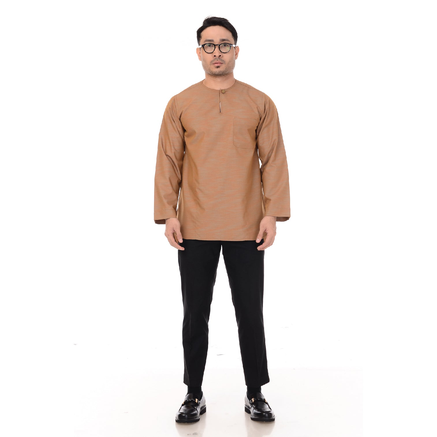 Kurta IMA Idris Greyish Brown