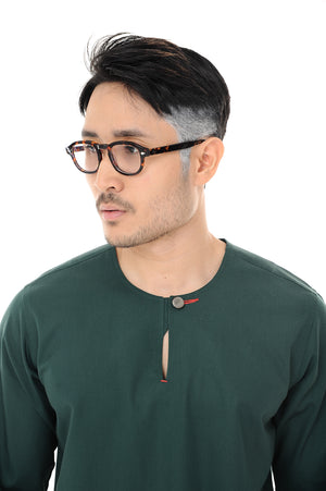 Kurta Idris Long Sleeve Dark Green