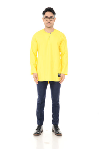 Kurta Idris Long Sleeve Yellow