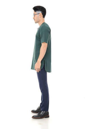 Kurta Idris Short Sleeve Green