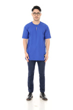 Kurta Idris Short Sleeve Royal Blue