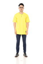 Kurta Idris Short Sleeve Yellow