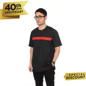 Kurta Omarthobe Short Sleeve Black