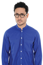 Kurta Raihan Long Sleeve Royal Blue