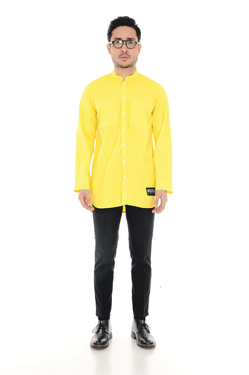 Kurta Raihan Long Sleeve Yellow