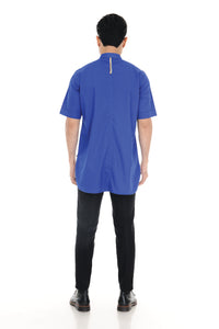 Kurta Raihan Short Sleeve Royal Blue