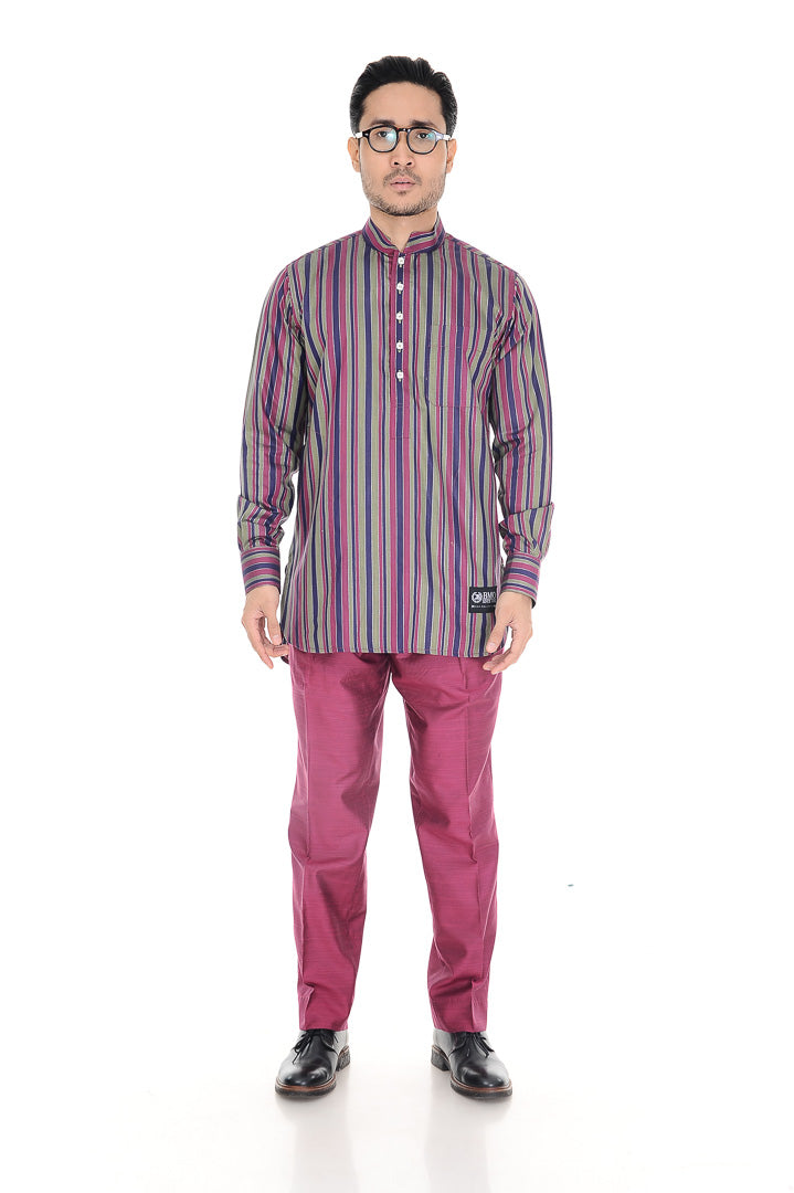 Kurta Warisan Purple