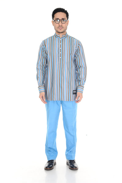 Kurta Warisan Light Blue