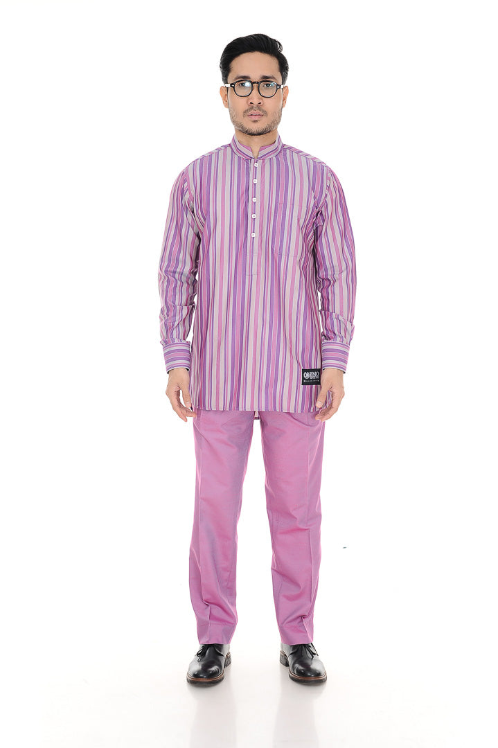 Kurta Warisan Soft Purple