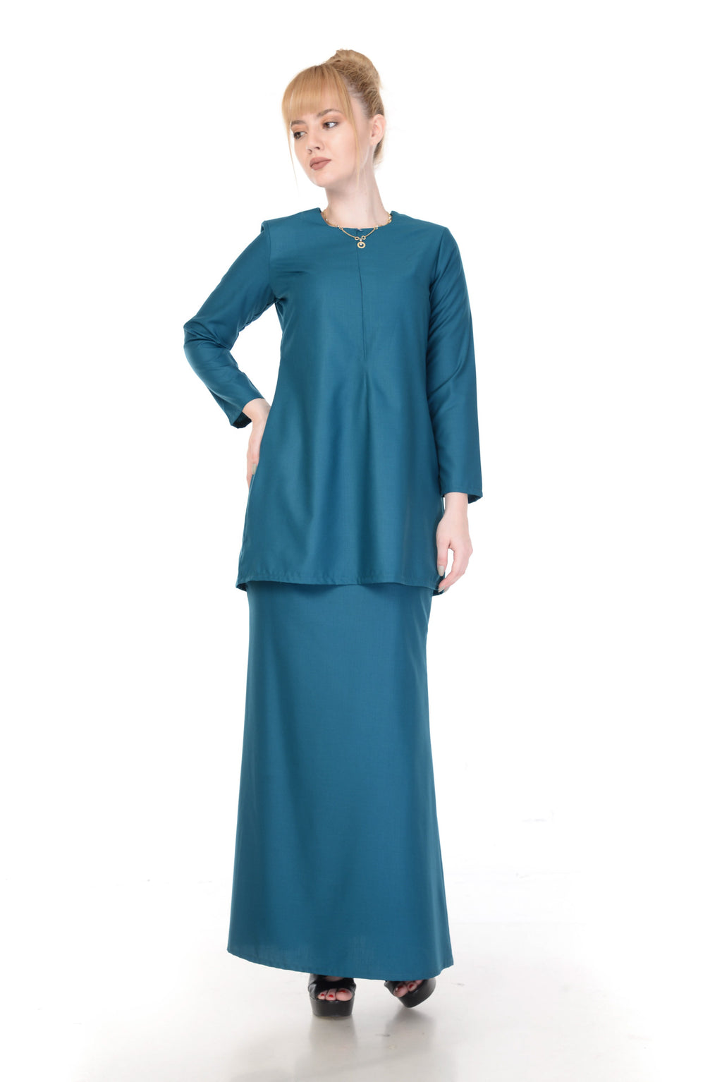 SET KURUNG ARABELLA MALARD GREEN