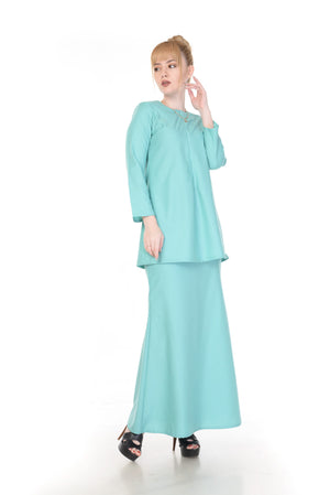 SET KURUNG ARABELLA MINT GREEN