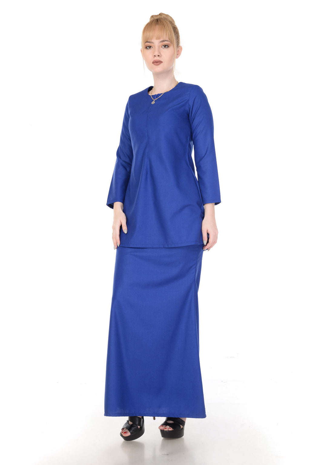 SET KURUNG ARABELLA ROYAL BLUE