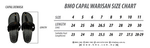 Capal Warisan BMO Light Brown