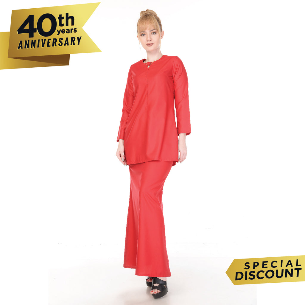 SET KURUNG ARABELLA RED