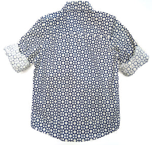 BottaBotta Boys Shirt Geometric Design Cotton with Collar