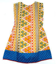 Load image into Gallery viewer, BottaBotta Polka Dot Geometric Cotton Casual Frock/Dress