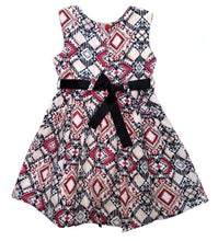 Load image into Gallery viewer, BottaBotta Sleveless A-Line Cotton Princess Frock