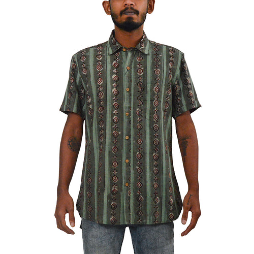 Florence half sleeve cotton shirt