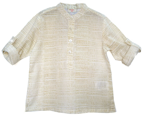 BottaBotta Cotton White Kurta For Boys