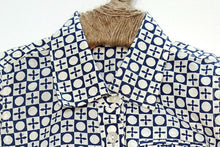 Load image into Gallery viewer, BottaBotta Boys Shirt Geometric Design Cotton with Collar