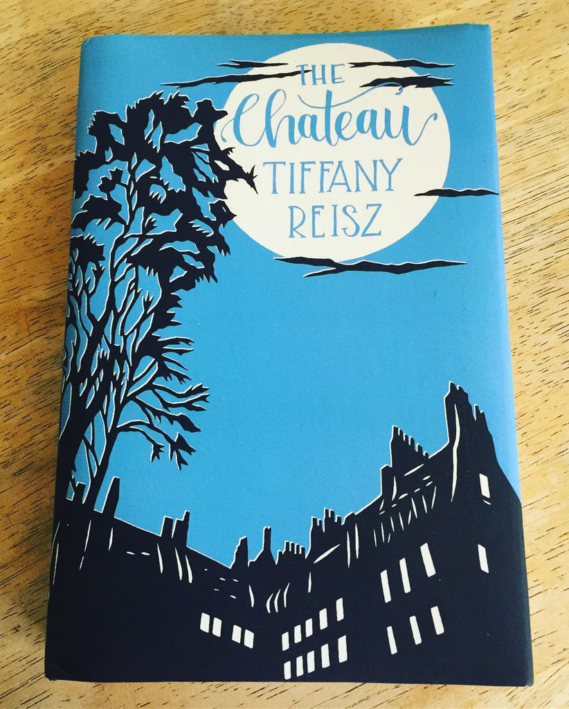 My Papercut Art on a Book Cover