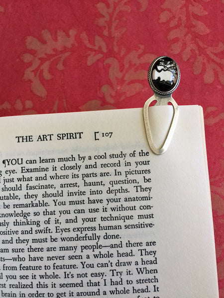 GONE WITH the WIND Silhouette Bookmark