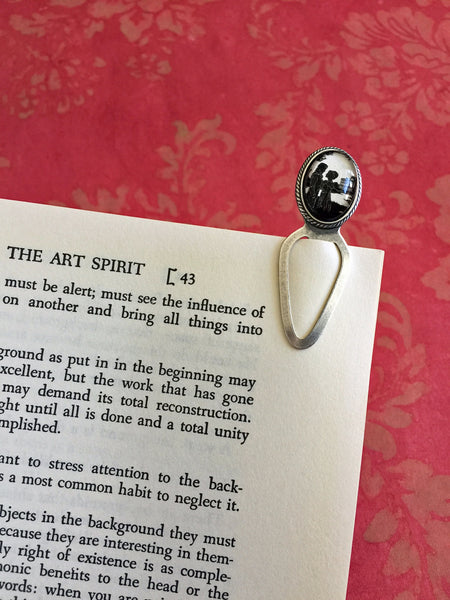 PRIDE and PREJUDICE Silhouette Bookmark