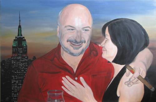 "Custom Portrait - Acrylic on Canvas, 24x36"" or 30x30"""