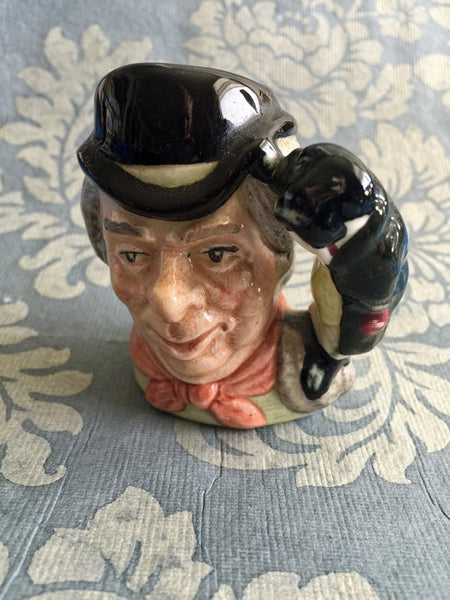 "Vintage Royal Doulton Toby Jug ""The Walrus & Carpenter"" 1964, Small"
