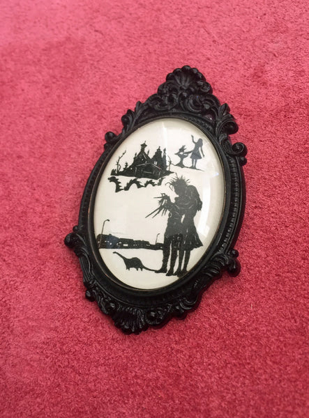 EDWARD SCISSORHANDS Brooch - Silhouette Jewelry