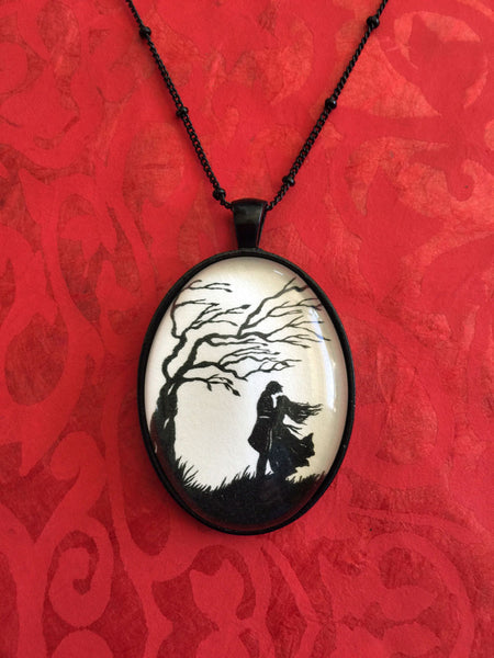 WUTHERING HEIGHTS Necklace, pendant on chain - Silhouette Jewelry