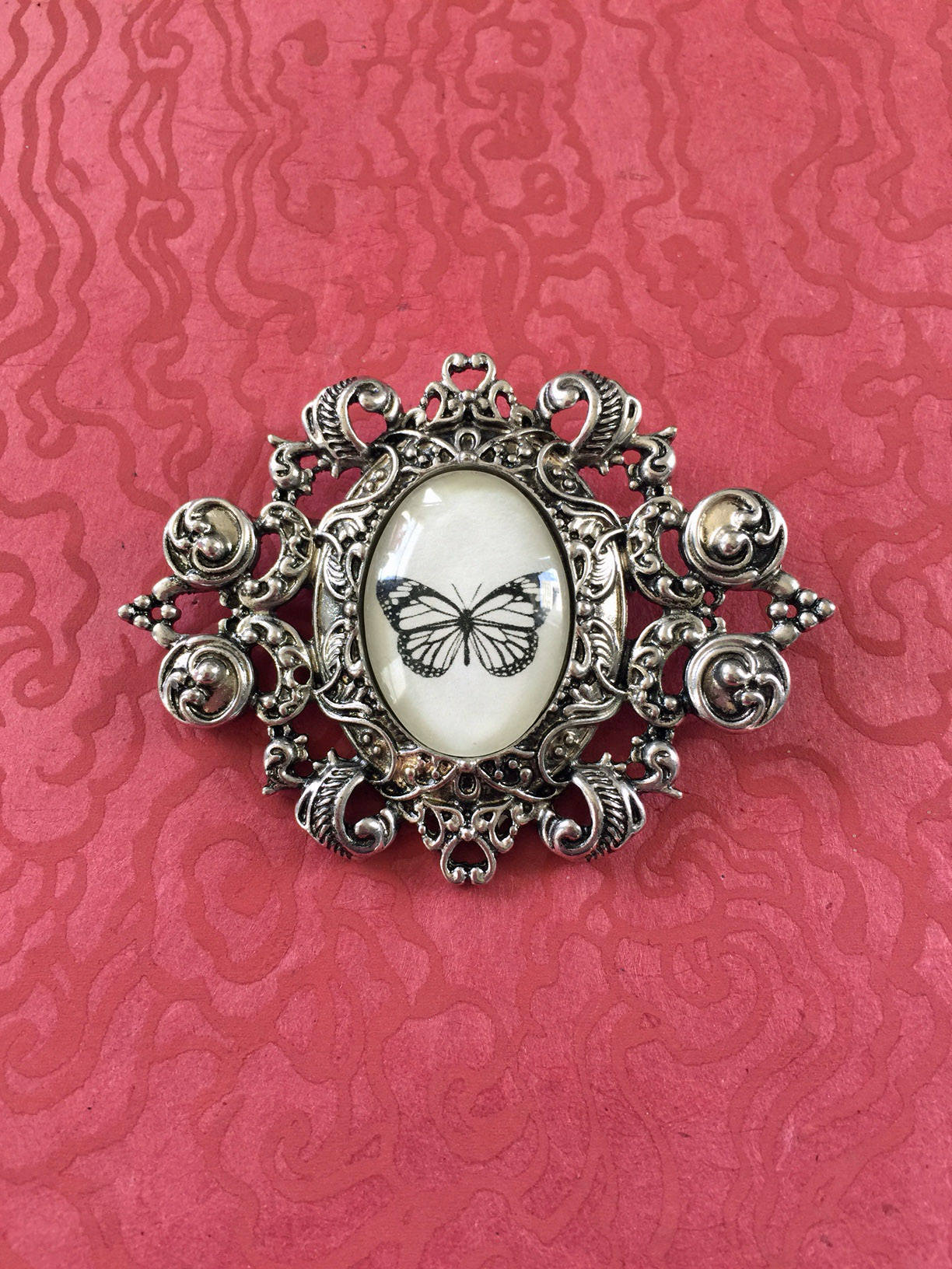 BUTTERFLY Brooch - Silhouette Jewelry