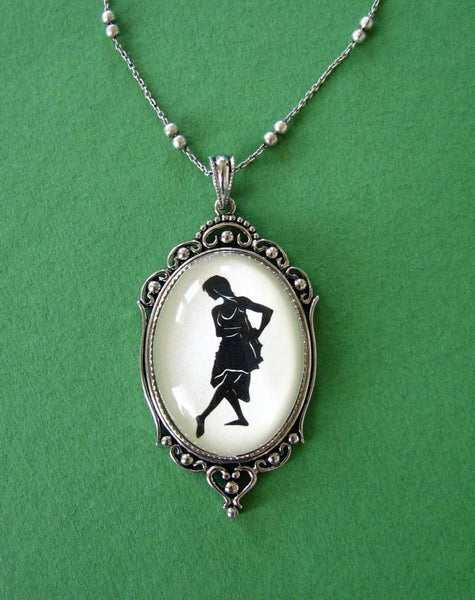 ISADORA DUNCAN - Silhouette Necklace, Pendant on Chain