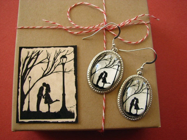 AUTUMN KISS Earrings - Silhouette Jewelry