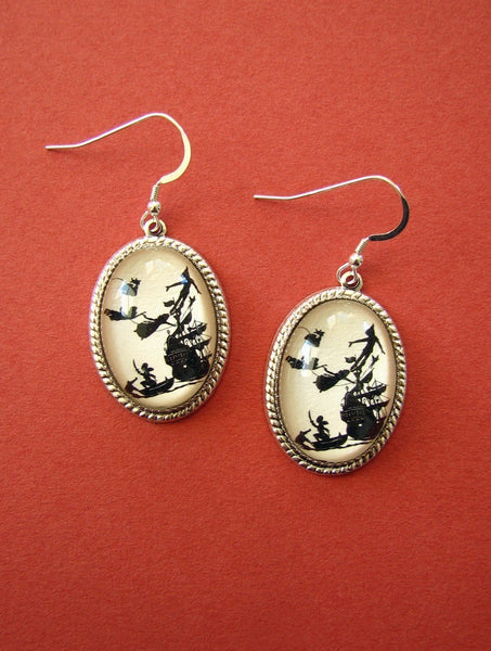 PETER PAN Earrings - Silhouette Jewelry
