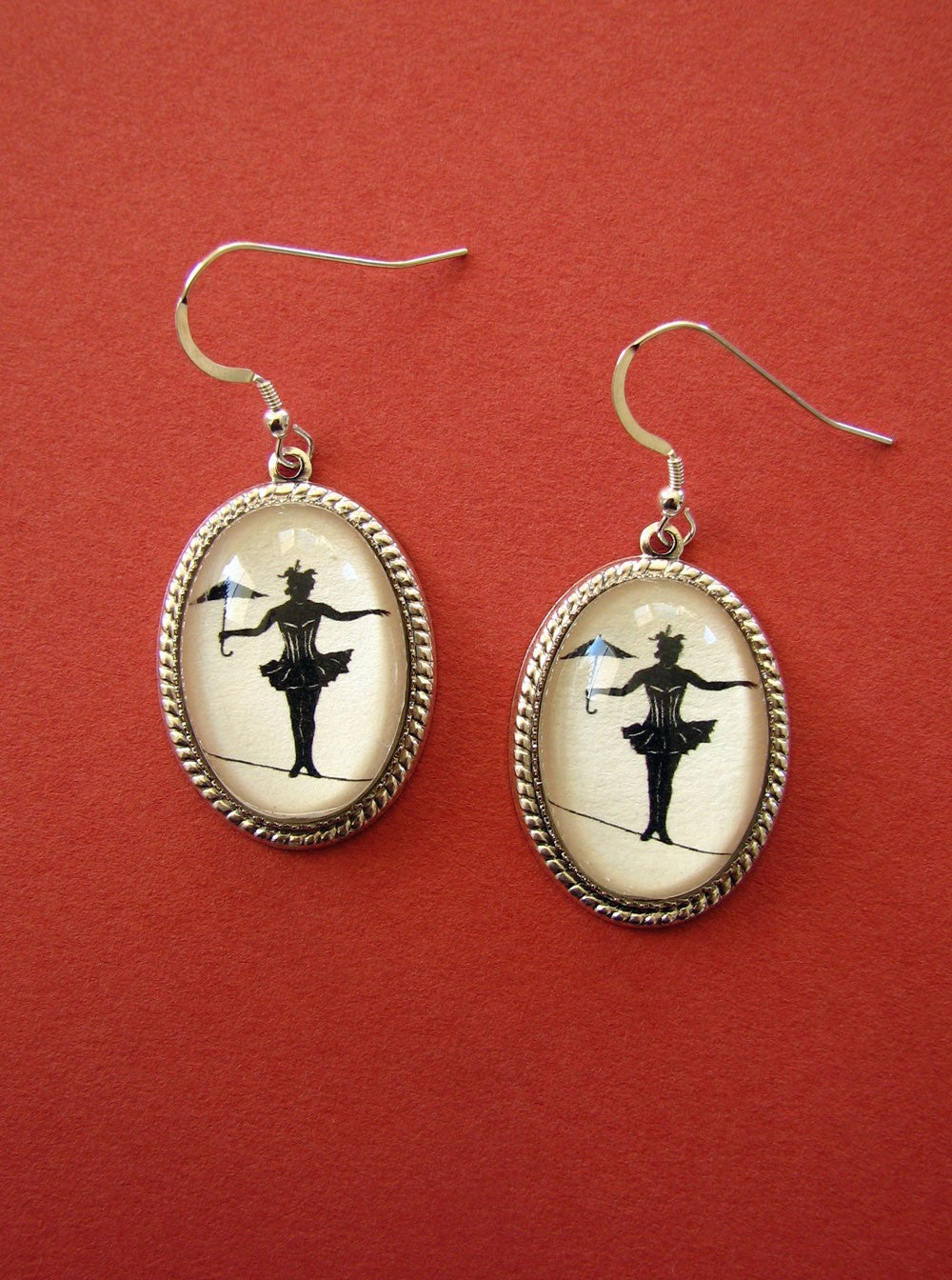 Elvira on a Tightrope Earrings
