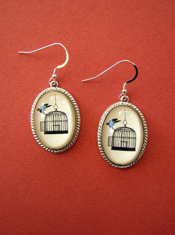 BACK WHERE You BELONG Earrings - Silhouette Jewelry