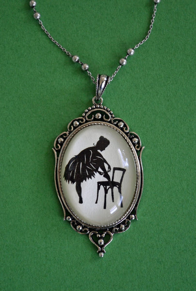 ANNA PAVLOVA Necklace - pendant on chain - Silhouette Jewelry