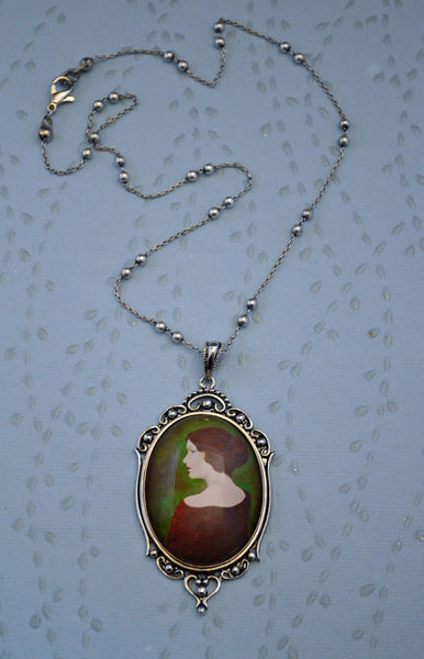 JANE EYRE Necklace - pendant on chain
