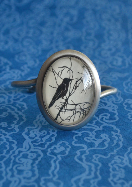 FOR the LOVE of CROWS Bracelet - Silhouette Jewelry