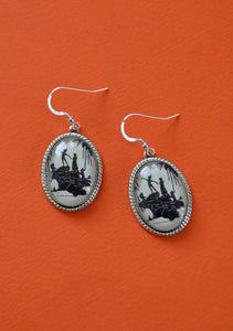 Peter Pan and the Mermaids Earrings